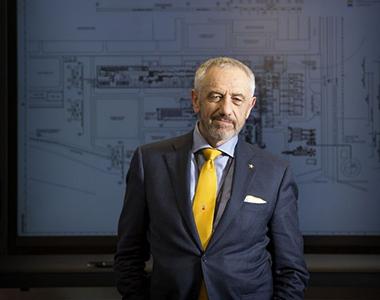 Gianpietro Benedetti, presidente e amministratore delegato Danieli Spa